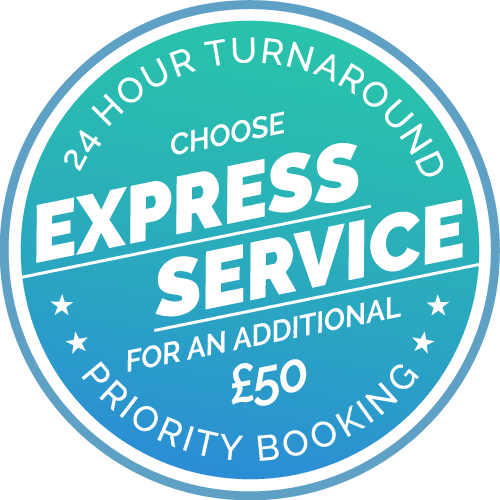 Express Service, get your results in 24 hours!